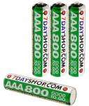 """AAA """"good to go"""" 800mAh rechargeables, £3.49 or less delivered @ 7dayshop"""