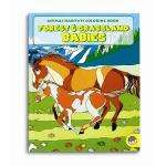 Forest & Grassland Babies Colouring Book 75p delivered @ Amazon