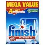 Finish All In 1 Dishwasher Tablets 60pack £6.49 ONLINE @ Tesco