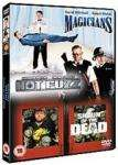 Shaun Of The Dead / Hot Fuzz / Magicians DVD Set £3.83 delivered @ Base