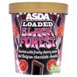 Asda Loaded Black Forest Ice Cream 480ml £1