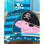 Peppa Pig: George Pirate Single Panel Duvet Set RRP £17.99 only £7.99 @ Play