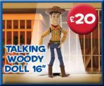 Toy Story Buzz, Woody or Jessey @ £20 Disney Store