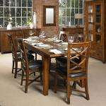 Solid wood Belize small table & 6 cross back chairs £903.09 @ Debenhams