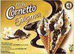 Wall's Cornetto Enigma Chocolate (4x90ml) & Wall's Cornetto Enigma Vanilla Raspberry & Dark Chocolate (4x90ml) BOGOF £2.49 @ Sainsburys