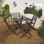 B&Q Romsey 5 Piece Dining Set Now only £23.91