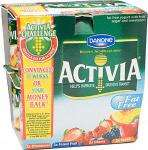 Activia Fat Free Yogurt - All Types (8x125g) £2.95 or 2 for £3 @ Tesco