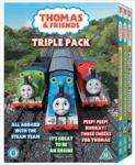 Thomas And Friends - All Aboard With The Steam Team/It's Great To Be An Engine/Peep! Peep! Hurray! 3 DVD Set - £3.37 delivered @ Tesco (£3.97 without code - still cheapest)