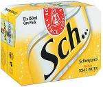 Schweppes Indian Tonic Water (12x150ml) & Schweppes Slimline Indian Tonic Water (12x150ml) £2.75 @ Tesco