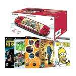 PSP 3000 Series Red & 3 Games (Impossible Mission, EA Replay, Capcom Classic Remixed,) & 2 UMD Videos (Night At The Museum, Simpsons) £133.94 Delivered @ Bargain Crazy