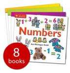 QED Start Maths Collection - 8 Books - £5.99 delivered @ Book People