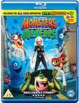 Monsters vs Aliens Blu Ray £9.40 @ CDWOW