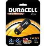 Duracell 8GB USB Key and 8GB Free Online Storage with free delivery £12.99 @ Play.Com