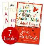 Adrian Mole Collection - 7 Books £7.99 delivered @ The Book People