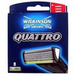 5 wilkinson sword quattro blades and razor half price @ superdrug