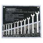 Draper 29545 Hi-torq Metric Combination Spanner Set 11 piece £8.08 delivered @ Amazon