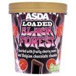 Asda Loaded Black Forest ice cream 480ml 50p/tub usually £2.47 @ Asda instore