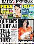 Daily Express: FREE Simpsons Sponge Pudding from ASDA & FREE Volvic touch from WH Smith