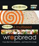 Discovery Multiseed Wrapbreads (6) 74p (Half Price) @ Sainsburys