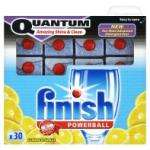 84 Finish Powerball All-in-One dishwasher tablets PLUS 30 Finish Powerball Quantum tablets £9 at Asda stores