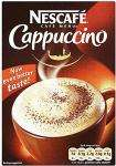 Nescafe Cappuccino - Decaf, Normal, Irish Cream, Skinny or Unsweetened 10'S Plus Toppings £1.20 @ Tesco & Sainsburys