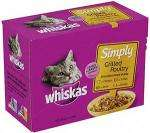 Whiskers Simply Steamed Fish / Grilled Poultry 2 for £4 @ Morrisons