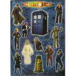 99p for a bunch of 10th Doctor Who magnets @ 99P stores - the good looking one!