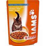Iams Pouch Adult Cat Food Mixed Selection, 40 Pack, £10 @ Pets at home