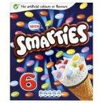 Nestle Smarties Cones 6 Pack - £1.39 @ Tesco