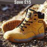 DeWalt Bolster Safety Boots Honey £39.99 @ Screwfix