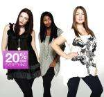 20% Off at Evans (Upto 30%)  - Online & Instore - No Code Needed