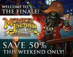 Monkey Island 1+2 Special Edition £3.49 (each) or £5.24 for both on Steam