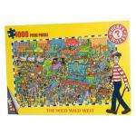 Where's Wally 1,000 piece puzzle - Wild West - half price - £5 delivered @ Amazon