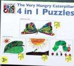 The Very Hungry Caterpillar 4 in 1 Puzzles 50% off @ Sainsburys