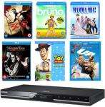 SAMSUNG BDC5300 BLU RAY PLAYER & Gold plated HDMI cable & 6 Blu-ray movies £97.99 Delivered @ AJ Electronics online ( code used )