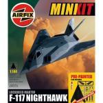 Airfix A50076 Lockheed F-117A Nighthawk, Airfix A50075 Grumman F-14 Tomcat , Airfix A50025 Republic P-47D Thunderbolt  & Airfix A50067 McDonnell Douglas F-4 Phantom - All Pre-painted inc Glue £3.49 @ Amazon
