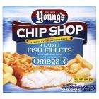 Young's Chip Shop Omega 3 Fish Fillets 500g (was £3.96) now £1.98 @ Sainsburys