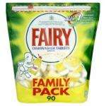 Fairy All in 1 Dishwasher Tablets Lemon 90 Washes (90pk) £9.00 was £20 Rollback offer @ Asda