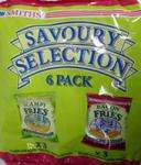 Smiths Savoury Selection 6 Pack (3 x Bacon Fries & 3 x Scampi Fries)  £1 @ Poundland