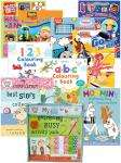 Kids 16 activity book collection inc. charlie & lola, thomas for £9.99 delivered @ booksdirectbargains