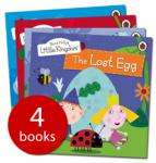 Set of 4 Ben & Holly Books only £4.99 delivered at The Book People
