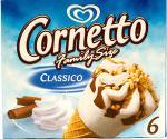 Wall's Cornetto Family Size Classico (6x90ml) £1.08 at Tesco