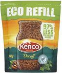 Kenco Rich Roast Eco Refill (150g), Kenco Smooth Roast Eco Refill (150g) & Kenco Decaffeinated Eco Refill (150g) 2 for £5 @ Tesco