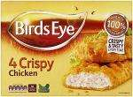 Birds Eye 4 Crispy Chicken 360G was £2.99 now £1.49 @ Tesco