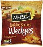 McCain Lightly Spiced Wedges (750g) £1.64 BOGOF @ Morrisons or £1 @ Asda