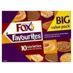 Fox's Favourites Carton 1Kg £3 at Tesco