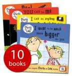 Charlie and Lola set - 10 books in a rucksack - £9.99 delivered @ The Book People