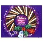 Cadbury Fingers Selection Carton 375G £2.50 at Tesco