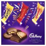 Cadbury Favourites Selection 390g £3 at Tesco