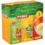 Pyrex 3 Piece Bowl Set - Was £10.00 Now £3.00 @ Asda